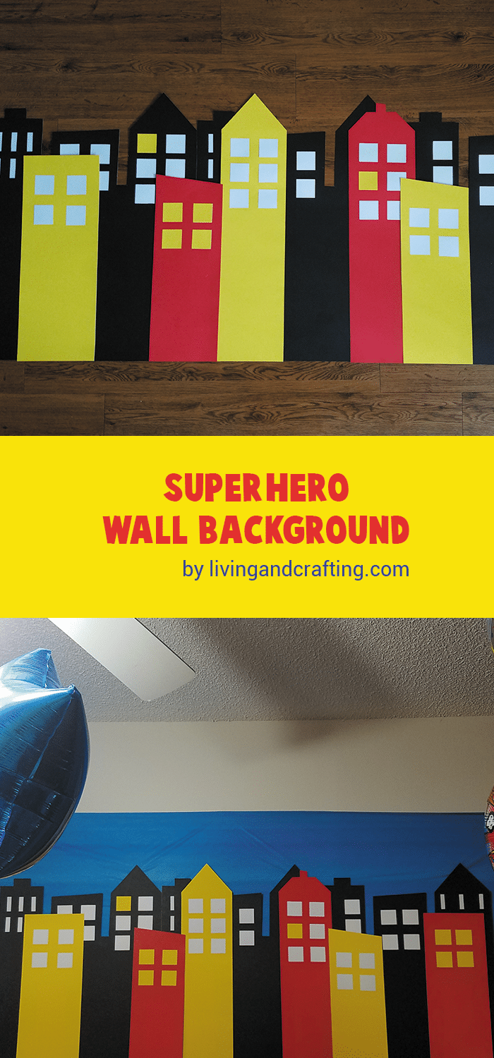 Super Hero Wall Background