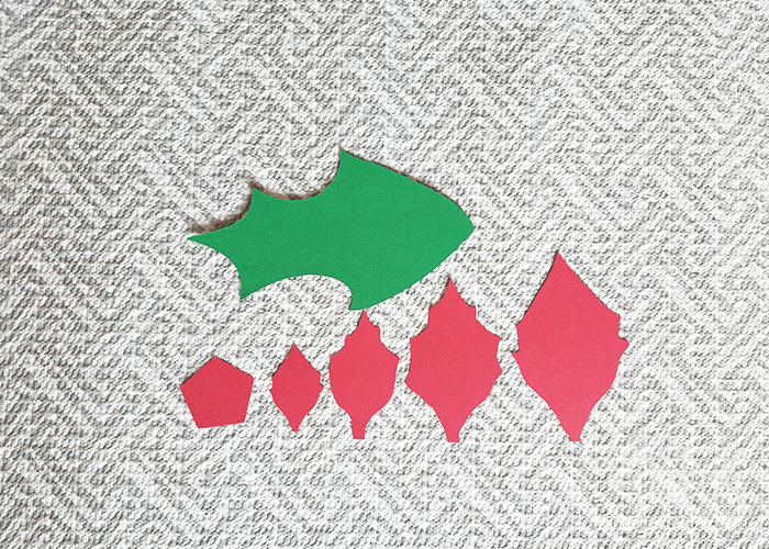Poinsettia Paper Flower Living And Crafting