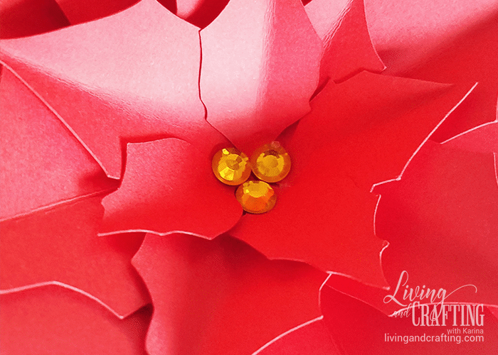 Poinsettia Paper Flower 10
