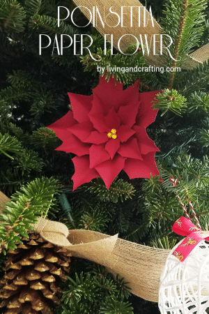 Poinsettia Paper Flower