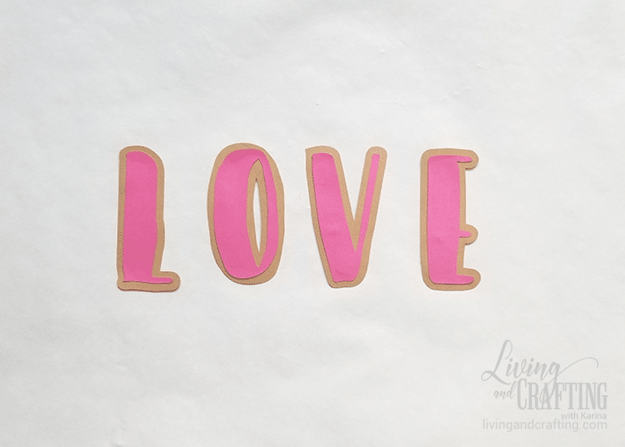 Love Burlap Photo Garland 3
