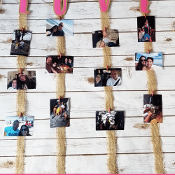 Love Burlap Photo Garland ft