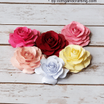 Mini Paper Rose ft