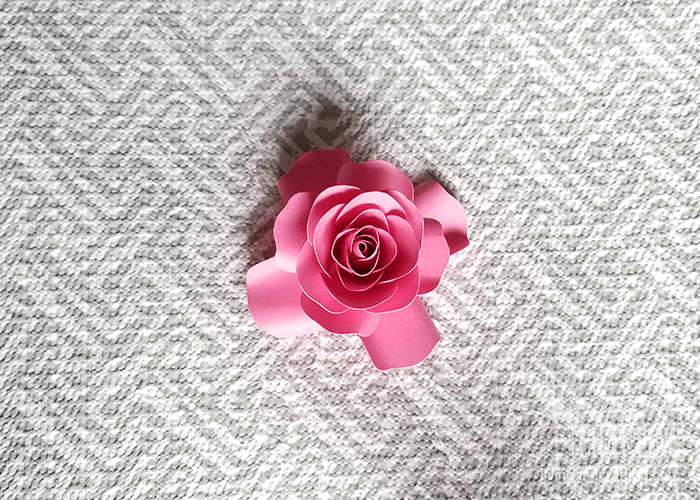 mini paper rose 26