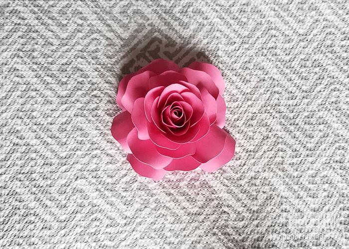 mini paper rose 32