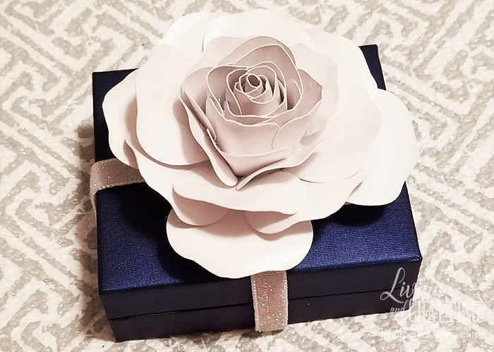 mini paper rose 34