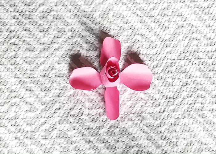 mini paper rose 9
