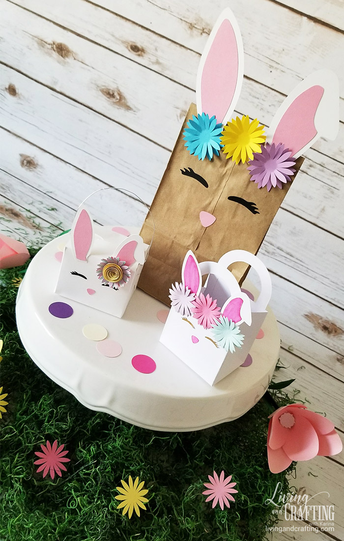 Diy Easter Bunny Face Decor Living And Crafting