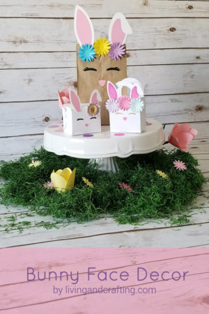DIY Easter Bunny Face Decor