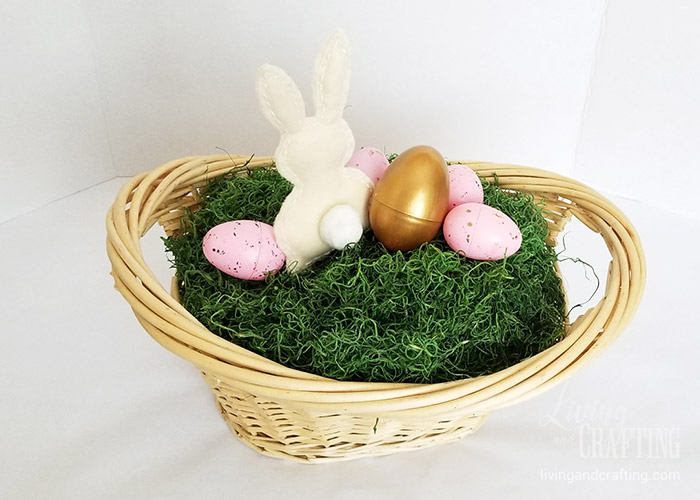 Easter Bunny Basket 15