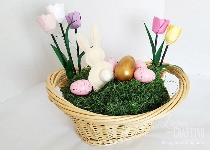 Easter Bunny Basket 16