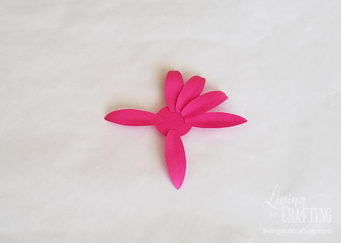 Gerbera Daisy Paper Flower 12