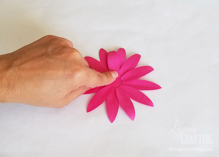 Gerbera Daisy Paper Flower 16