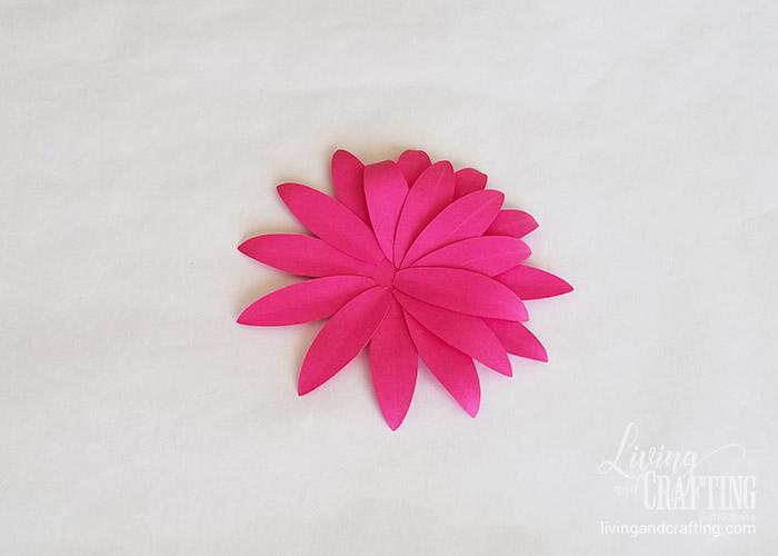 Gerbera Daisy Paper Flower 17
