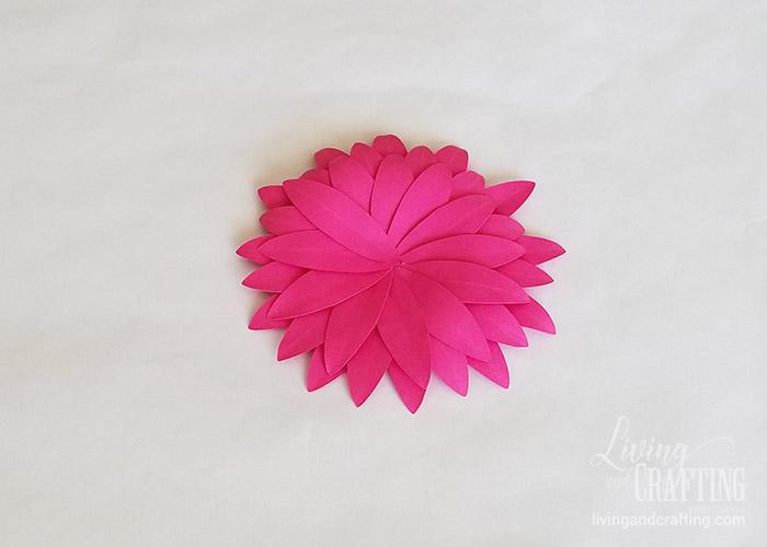 Gerbera Daisy Paper Flower 21