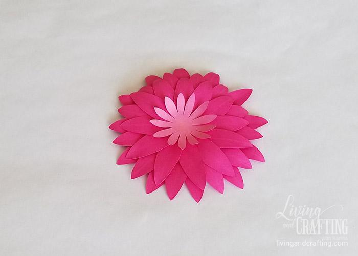 Gerbera Daisy Paper Flower 22