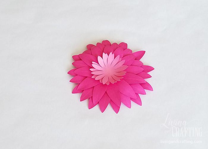 Gerbera Daisy Paper Flower 23