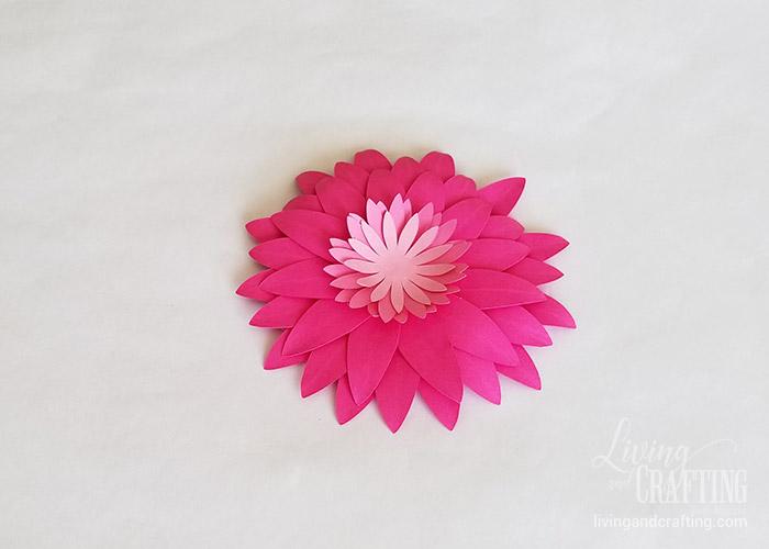 Gerbera Daisy Paper Flower 24