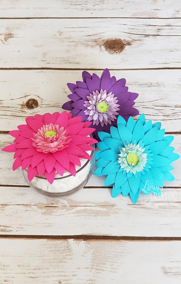 Gerbera Daisy Paper Flower color