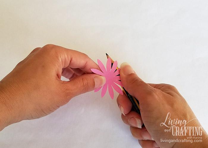 Gerbera Daisy Paper Flower 5