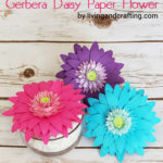 Gerbera Daisy Paper Flower feat