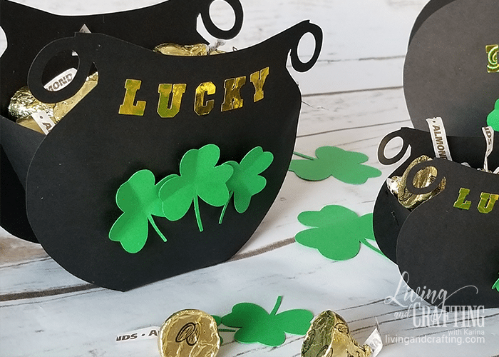 St. Patrick's Day Favor Box 14