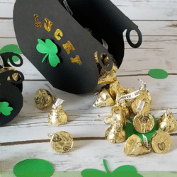 St. Patrick's Day Favor Box ft
