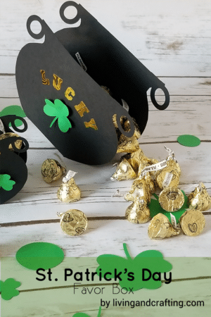 Pot of Gold St. Patrick's Day Favor Box
