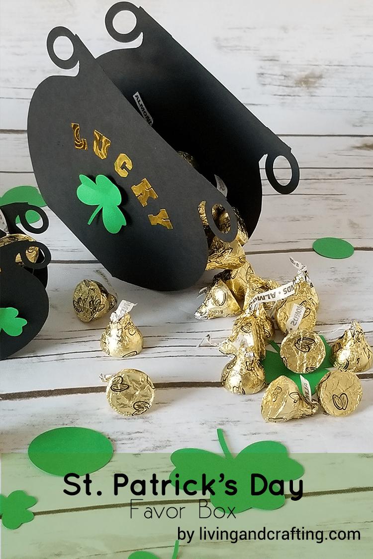 St. Patrick's Day Favor Box ft