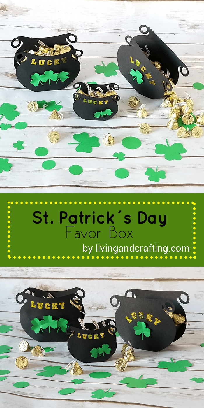 St. Patrick's Day Favor Box
