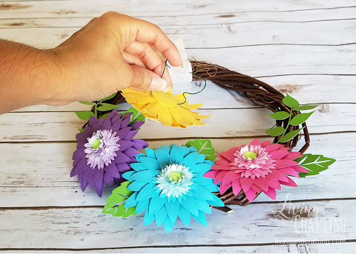 Rustic Spring Wreath 11
