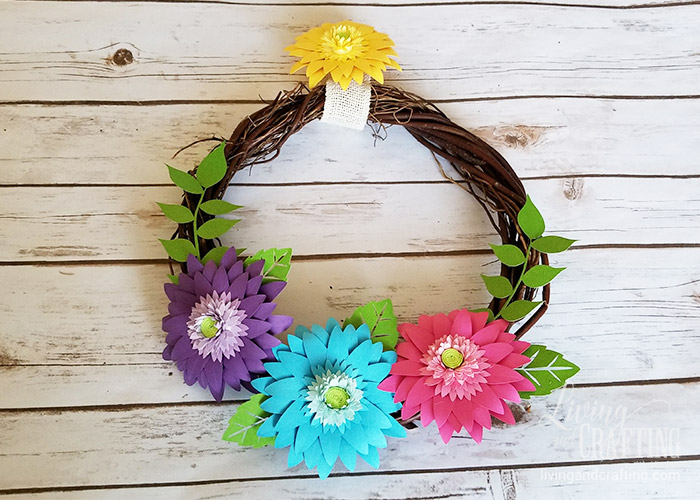 Rustic Spring Wreath 12