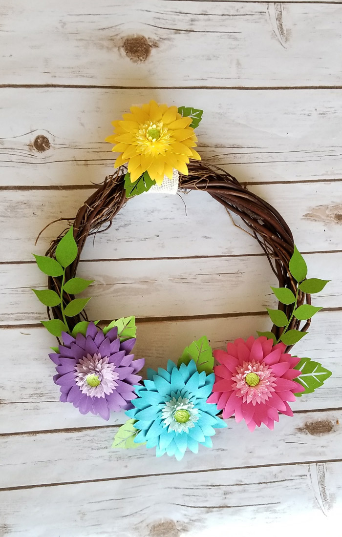 Rustic Spring Wreath 13