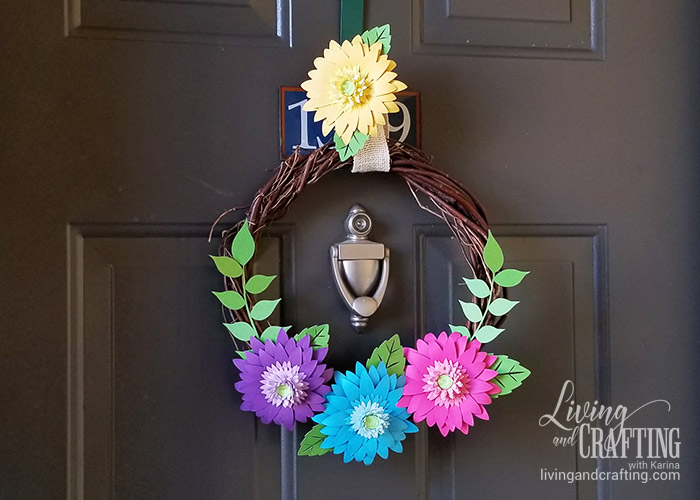 Rustic Spring Wreath 14