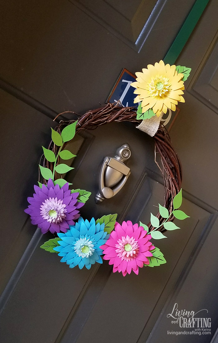 Rustic Spring Wreath 15