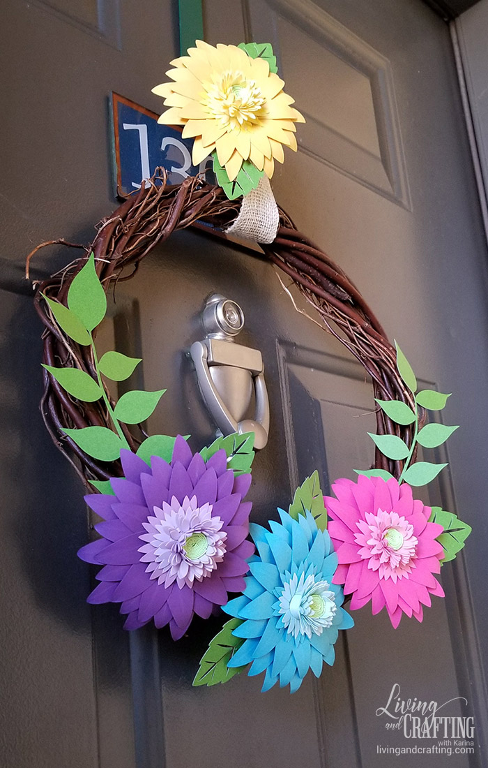 Rustic Spring Wreath 16