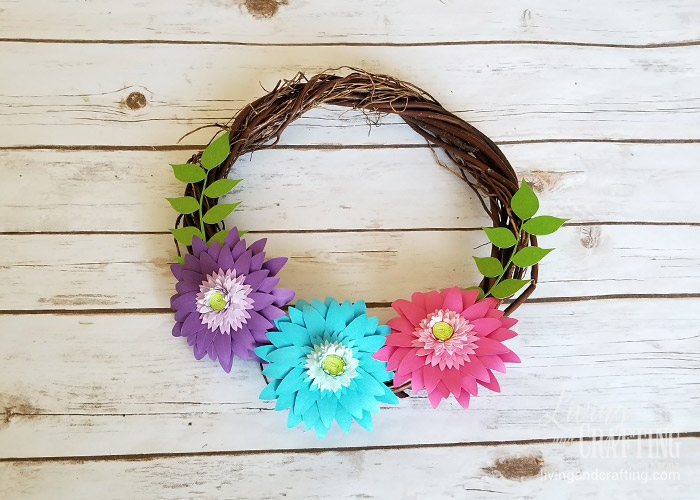Rustic Spring Wreath 5