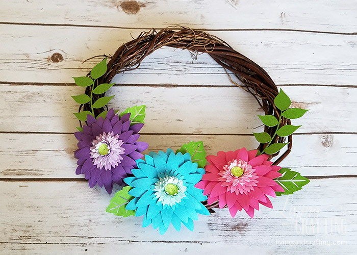 Rustic Spring Wreath 7