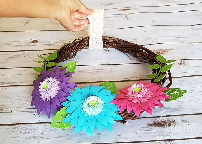 Rustic Spring Wreath 9