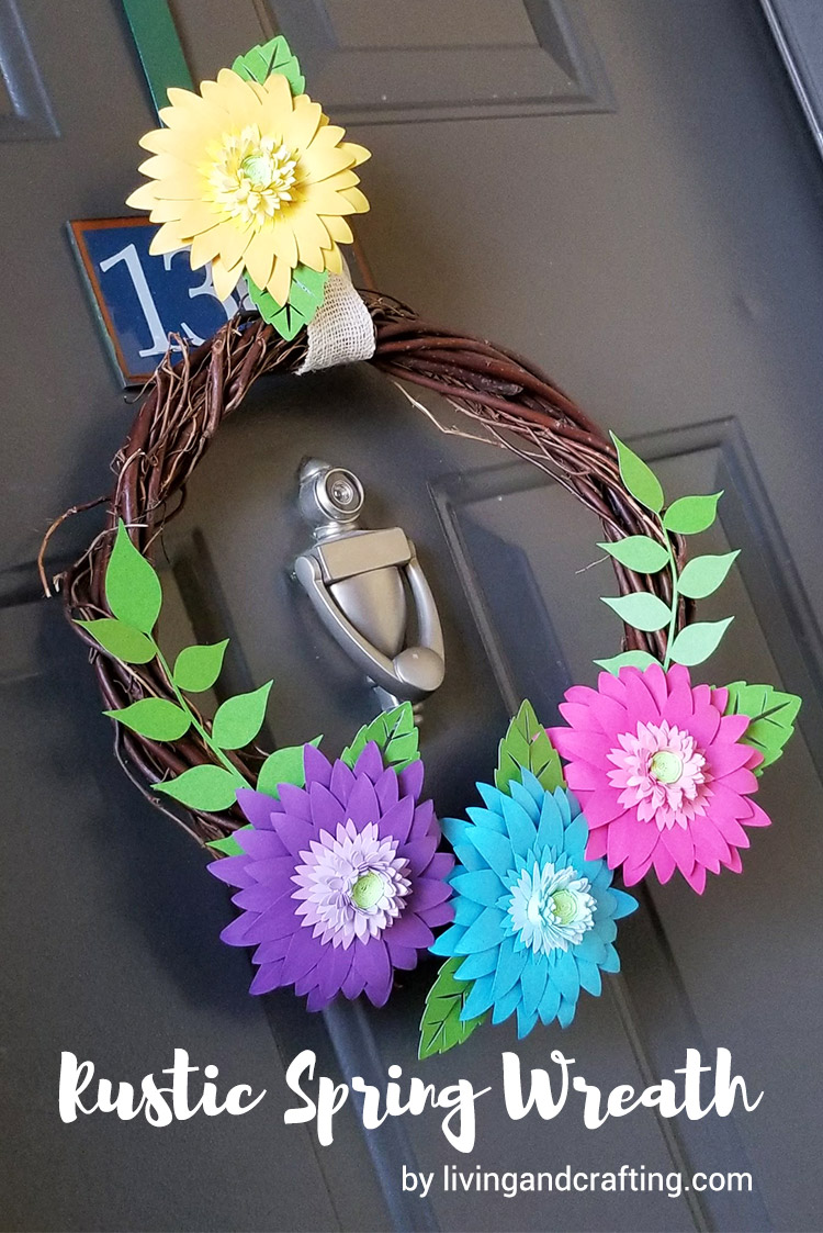 Rustic Spring Wreath ft