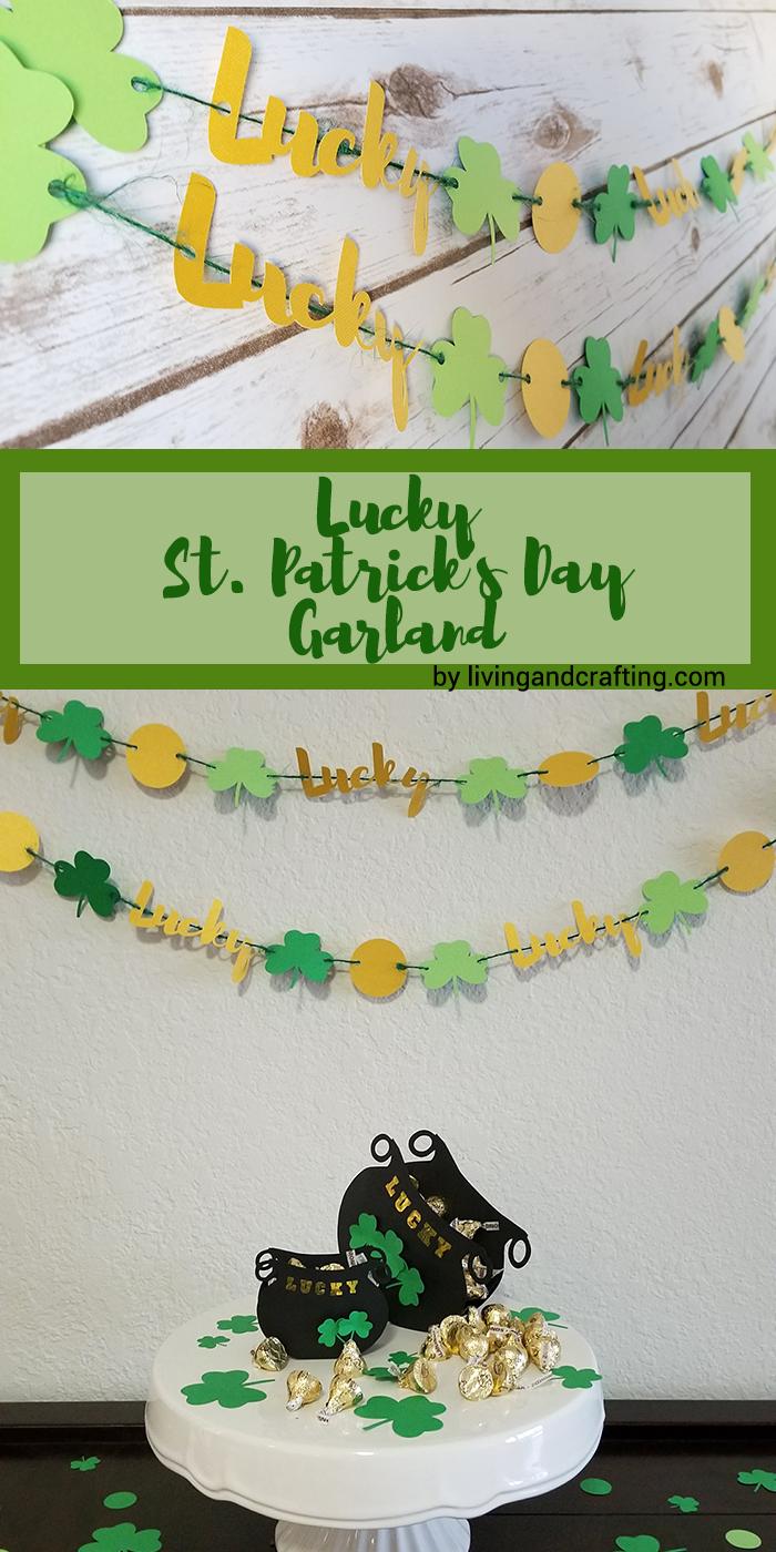 St Patricks Day Garland pnt