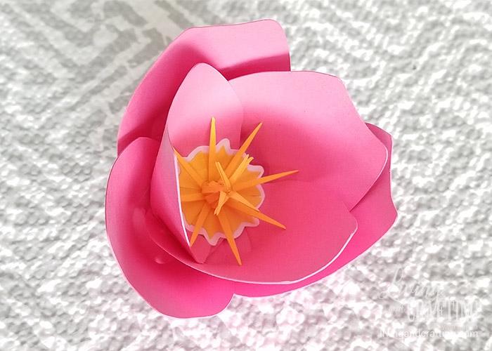 tulip paper flower 23