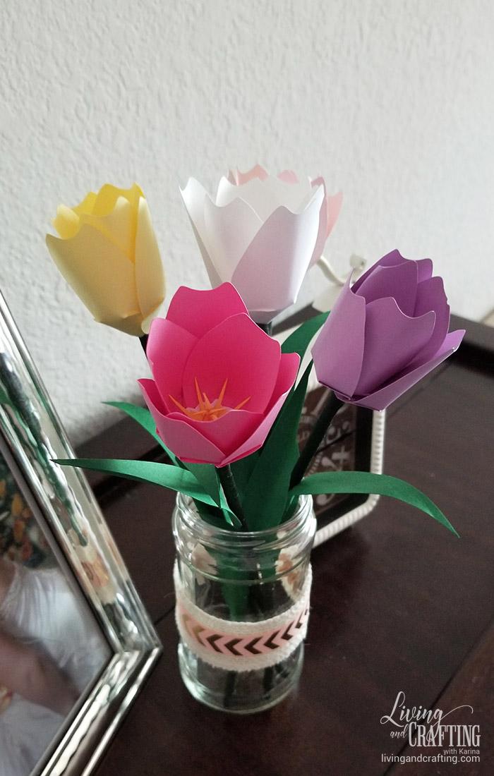 Tulip Paper Flower 35