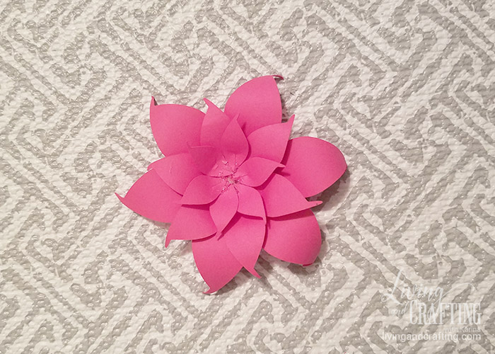 DIY Mini Hope Paper Flower 10