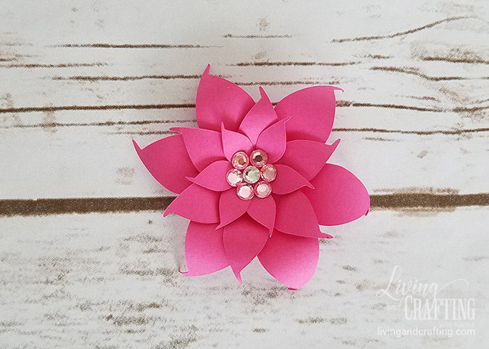 DIY Mini Hope Paper Flower 12