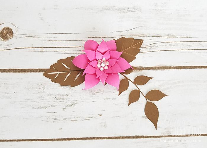 DIY Mini Hope Paper Flower beauty