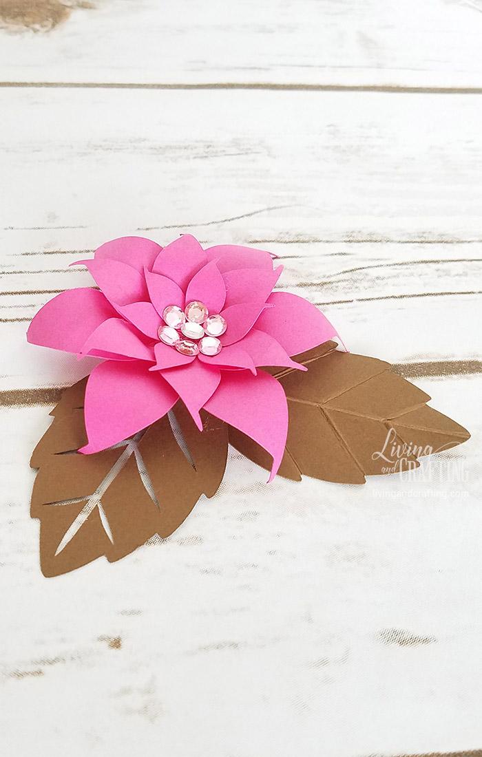 DIY Mini Hope Paper Flower delicate