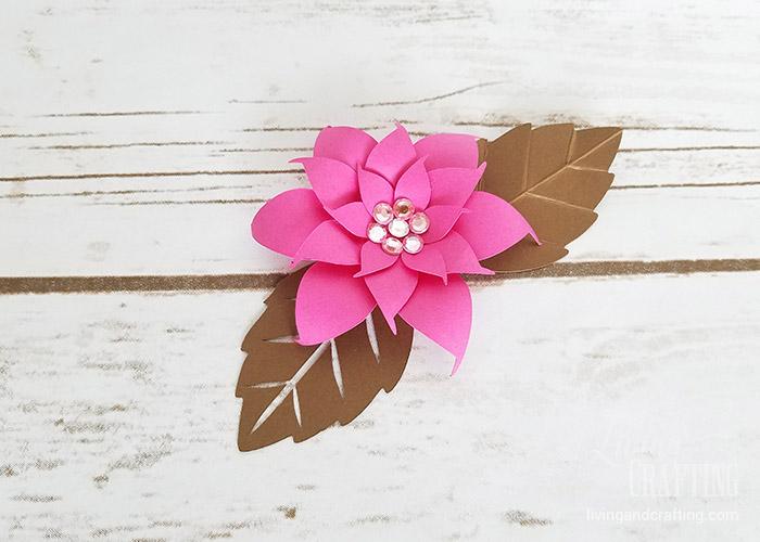 DIY Mini Hope Paper Flower pink