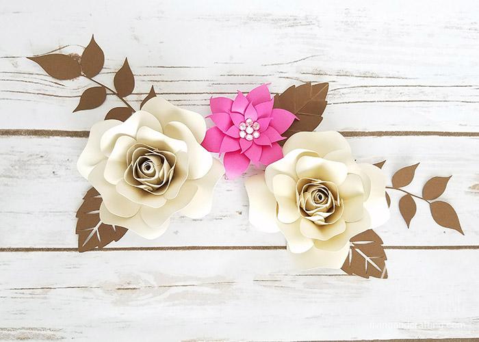 DIY Mini Hope Paper Flower arrangement