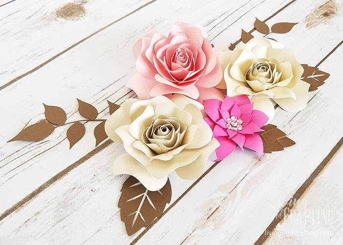 DIY Mini Hope Paper Flower decor